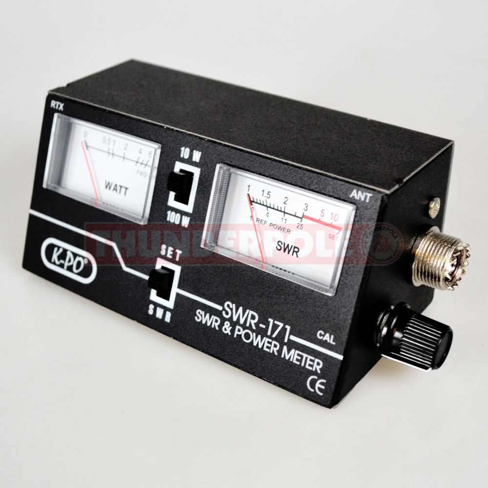 K Po Swr 171 Swr Power Meter Thunderpole